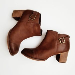 Restricted Country brown ankle booties size 8.5